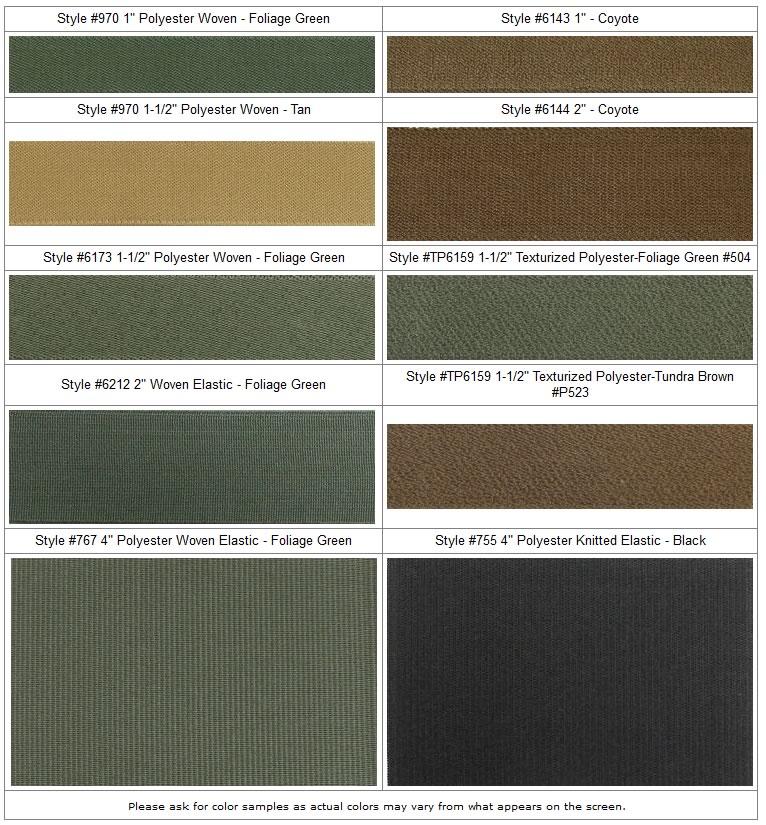 military-colored-elastics